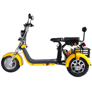 Citycoco Harley fat tire, 3 wheel trike motorcycle, Ship from Holland warehouse, Free shipping and TAX in EU - Fanco Electric Scooter manufacturer