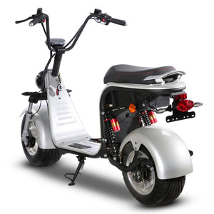Electric scooter fat tire 1500W 45KM/H, free shipping free TAX door to door - Fanco Electric Scooter manufacturer