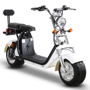 Citycoco Harley 60V 20AH Europe Warehouse Price, EEC/COC approved, Ship from Holland, Free Shipping & Tax - Fanco Electric Scooter manufacturer