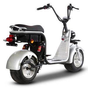EEC CoC Fat Tire Electric Scooter 2000W 55KM/H, free shipping free TAX to door - Fanco Electric Scooter manufacturer