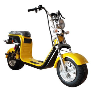 Electric moped Fat scooter 2000W 55KM/H, EEC certified 60v 40ah battery - Fanco Electric Scooter manufacturer