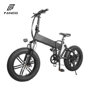Electric mountain bike 20 inch 500W front and rear suspension - CITI ESCOOTER