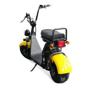 EEC Big wheel electric scooter citycoco 1500W support 3 removable battery - Fanco Electric Scooter manufacturer