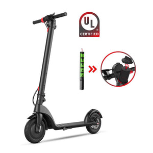 "USA & Europe Ready Stock, Adult 8.5"" / 10 Inch UL2272 Electric Scooters, 5AH Detachable Battery - CITI ESCOOTER"