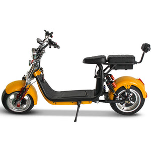 Electric moped scooter eec 1500 citycoco 45KM/H 40AH Battery 120KM Range free shipping and Tax - Fanco Electric Scooter manufacturer