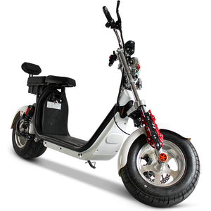 Motorized scooter coco city scoot 2000w 55KM/H 40AH Battery 120KM Range free shipping and Tax - Fanco Electric Scooter manufacturer
