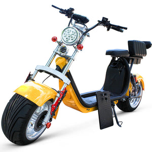 40AH Battery CityCoco Scooter Stock in Holland Warehouse, EEC/COC Certified, Free Shipping Tax Free in EU - Fanco Electric Scooter manufacturer