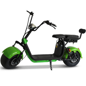 Fat tire electric scooter EEC - Fanco Electric Scooter manufacturer