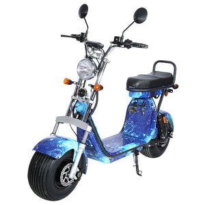 Fat tire Electric scooter with 3 removable battery - Fanco Electric Scooter manufacturer