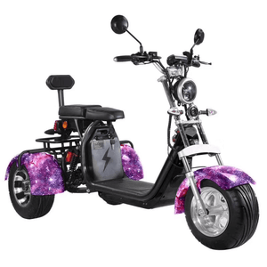 EEC COC Approved citycoco trike 3 Wheel Electric Cargo Scooter with Delivery Basket free shipping free tax to door - Fanco Electric Scooter manufacturer