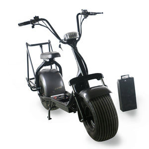 Citycoco golf scooter 60V 12A/20A 1500W factory wholesale price - Fanco Electric Scooter manufacturer