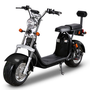 40AH Battery CityCoco Scooter Stock in Holland Warehouse, EEC/COC Certified, Free Shipping Tax Free to EU - Fanco Electric Scooter manufacturer