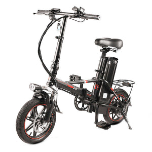 "14"" Smart Folding Electric Bike - Fanco Electric Scooter manufacturer"