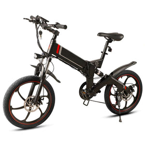 "20"" Suspension Folding Electric Bike - Fanco Electric Scooter manufacturer"