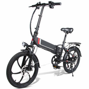 "20"" Folding Aluminum Alloy Electric Bike 7 Speed E-ONE - Fanco Electric Scooter manufacturer"