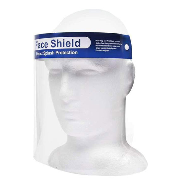 20 pcs Face Shield - Direct Splash Protection