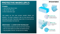 Disposable 3Ply Facemasks