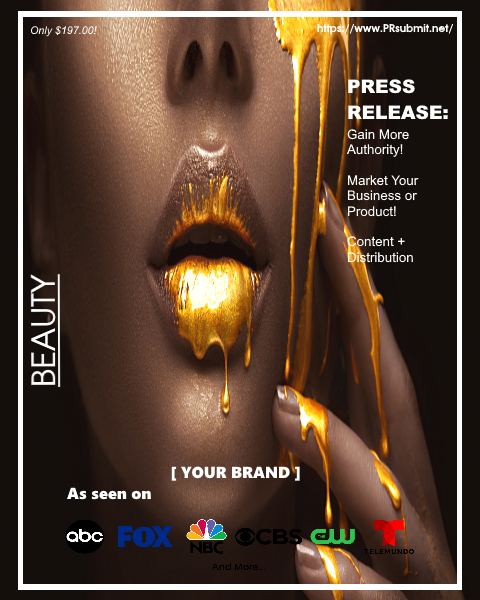 <strong>BEAUTY + COSMETICS</strong><br>Premium Press Release Tailored for Beauty and Cosmetics