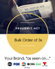<strong>3x BULK ORDER</strong><br>Bulk Order For 3x Premium Press Releases (Save 10%)