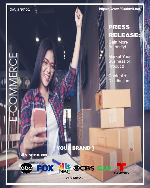 <strong>E-COMMERCE</strong><br>Premium Press Release Tailored for E-Commerce