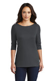 DM107L District ® Women's Perfect Weight ® 3/4-Sleeve Tee