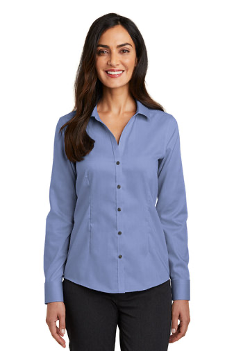 RH250 Red House® Ladies Pinpoint Oxford Non-Iron Shirt