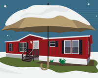 How to Winterize a Mobile Home From Top to Bottom