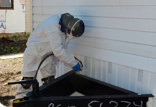 Mobile Home Tip: Stop Vinyl Skirting From Blowing Away