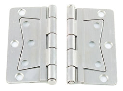 Deluxe Interior Non-Mortise Door Hinge (Pair)