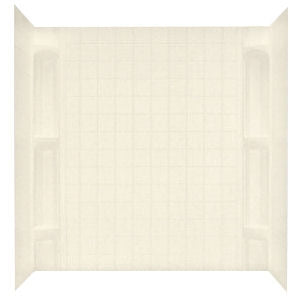 Kinro Mobile Home 5 Piece Almond Wall Surround