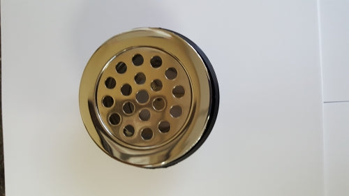 2-3/4in Metal Shower Drain W/ 1-1/2in Thread