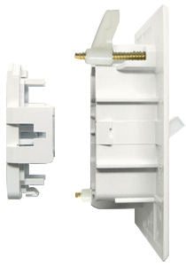 Wirecon White Self Contained Wall Switch