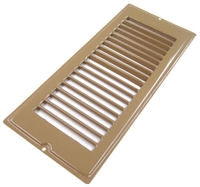 4 X 8 Brown Floor Register Plate