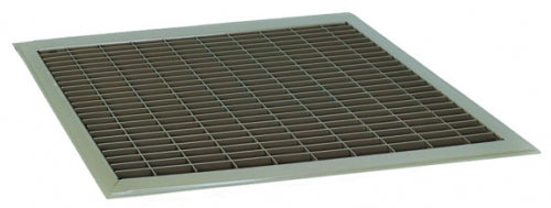 12 in x 20 in Floor Return Air Filter Grille