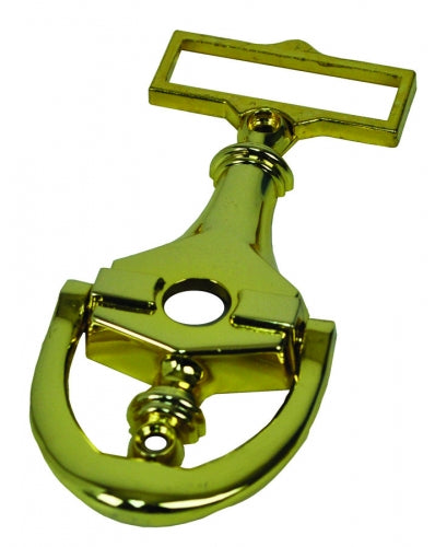 Door Knocker with Peep-Hole Viewer for Mobile Home Doors