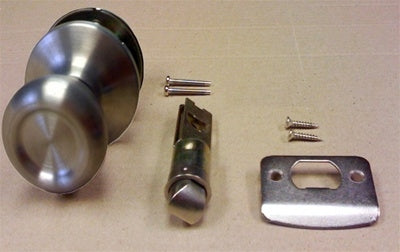 Stainless Steel Passage Door Knob Set
