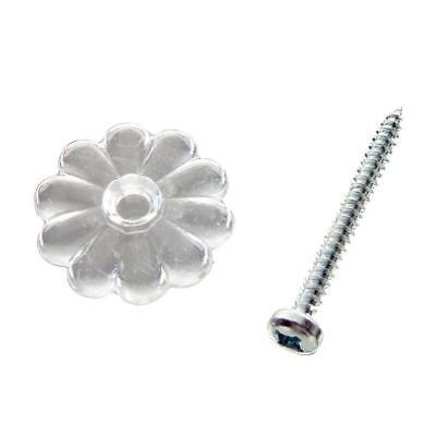 100 Pack of Clear Rosette's