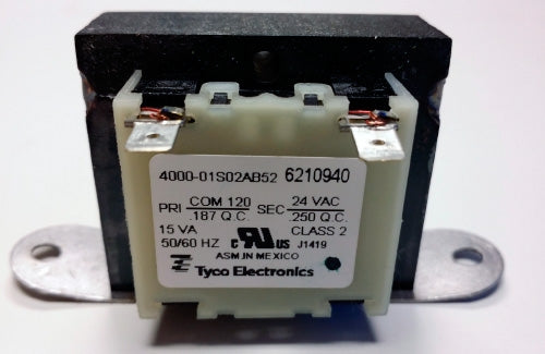 Nordyne/Miller/Intertherm 621094 Transformer 24V@15VA (NOT RETURNABLE)