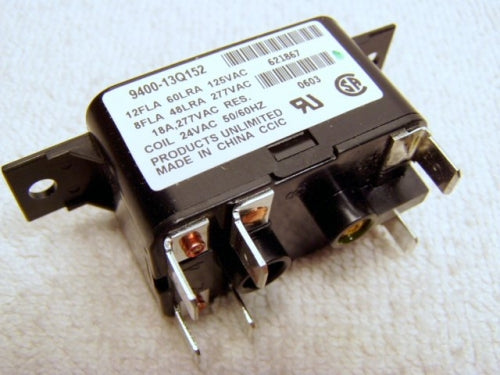 Nordyne/Miller/Intertherm DPST Relay (FM-621867)(FM-S90-380)