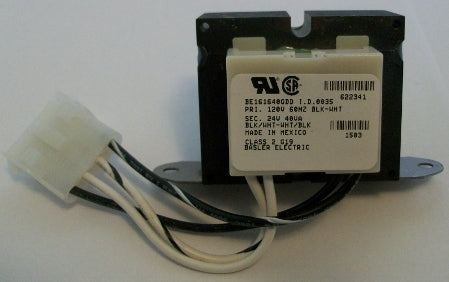 Nordyne/Miller/Intertherm 622341 Transformer 24V@40VA (NOT RETURNABLE)