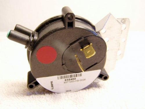 Nordyne/Miller/Intertherm Pressure Switch (1.0in PR) (FM-632452) (NOT RETURNABLE)