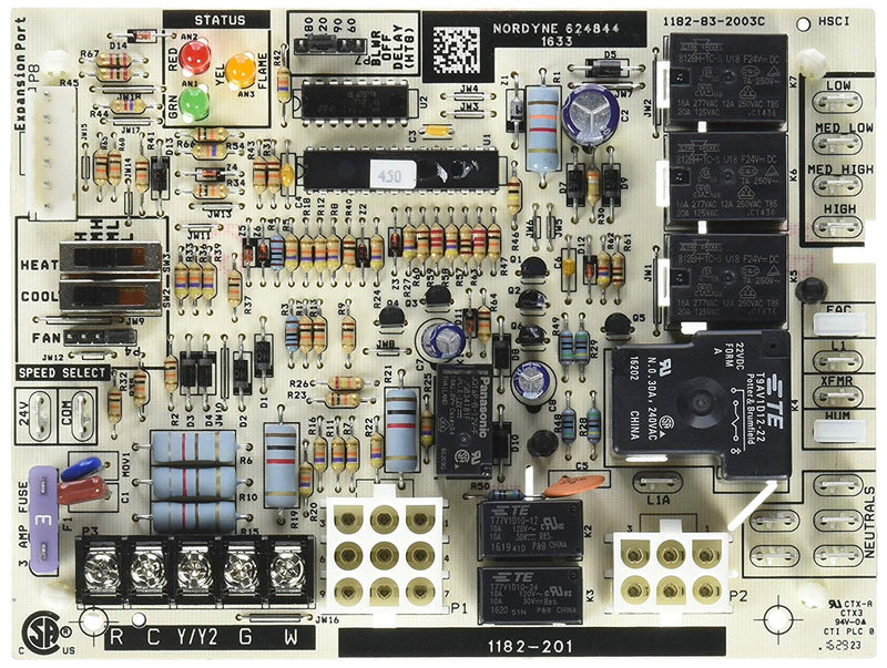 Intertherm/Nordyne Single Stage G7/M7 Control Board