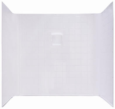 Kinro Mobile Home 1 Piece 32x32 Tile Surround (white)