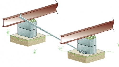 XI2 Concrete Main Foundation System (dry set)