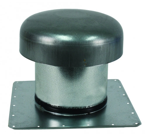 Ventline 7in Roof Cap For Flat Roof (1in into Attic)