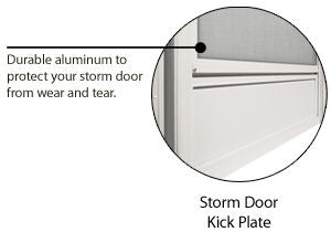 Vinyl Steel Combination Door for Mobile Home w/ Fan Lite Glass