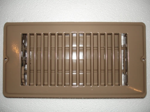 4 X 8 Brown Floor Register