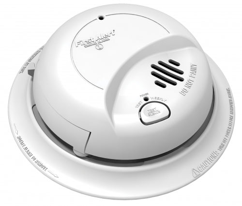 BRK Electric/Battery Back Up Smoke Alarm