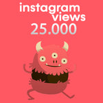 Laden Sie das Bild in den Galerie-Viewer, Instagram Video Views + Profilbesuche + Interaktionen