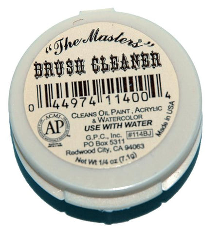 The Masters Brush Cleaner and Preserver .25 oz